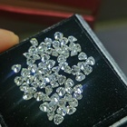 Diamond Double Jewelry VVS1 D Color Heart Shape Loose Moissanite Stone Diamond With GRA Certificate