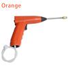 orange handheld electrostatic sprayer