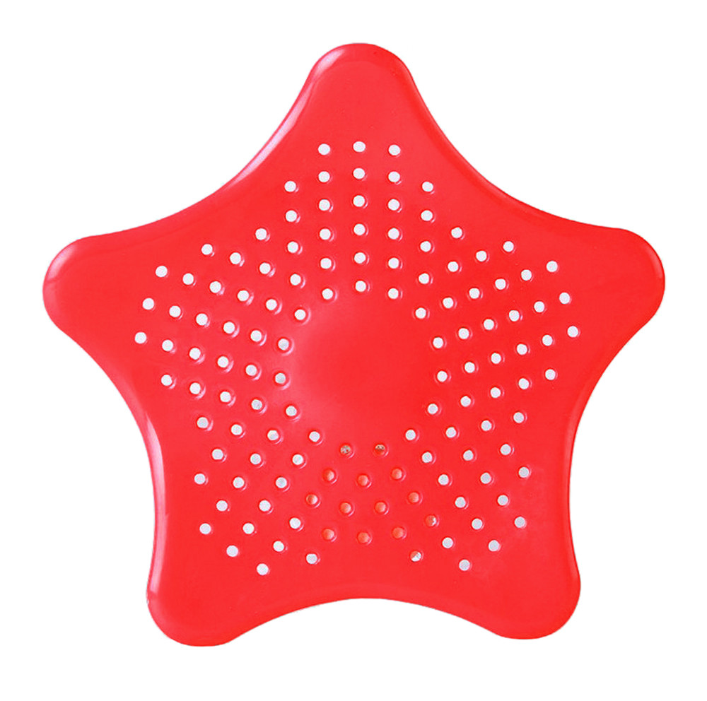 Звезда ванная комната слив волос Ловца для ванной пробка для раковины фильтр для душа ловушка фильтра для раковины воды ловушка для волос п...(Китай)