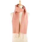 Pure Scarves Woman Winter Scarf Thick Cashmere Pure Pashmina Scarf Flat Pack Stocklot