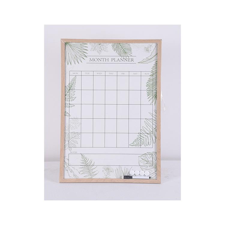 Dry Erase Magnetic Whiteboard Weekly Planner Customise Calendar Planner - Yola WhiteBoard   szyola.net