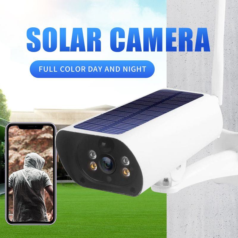 2MP HD Rechargeable Solar Power 4G Security Camera 1080P P2P Solar 4G WIFI IP Surveillance Camera Battery WIFI Cam