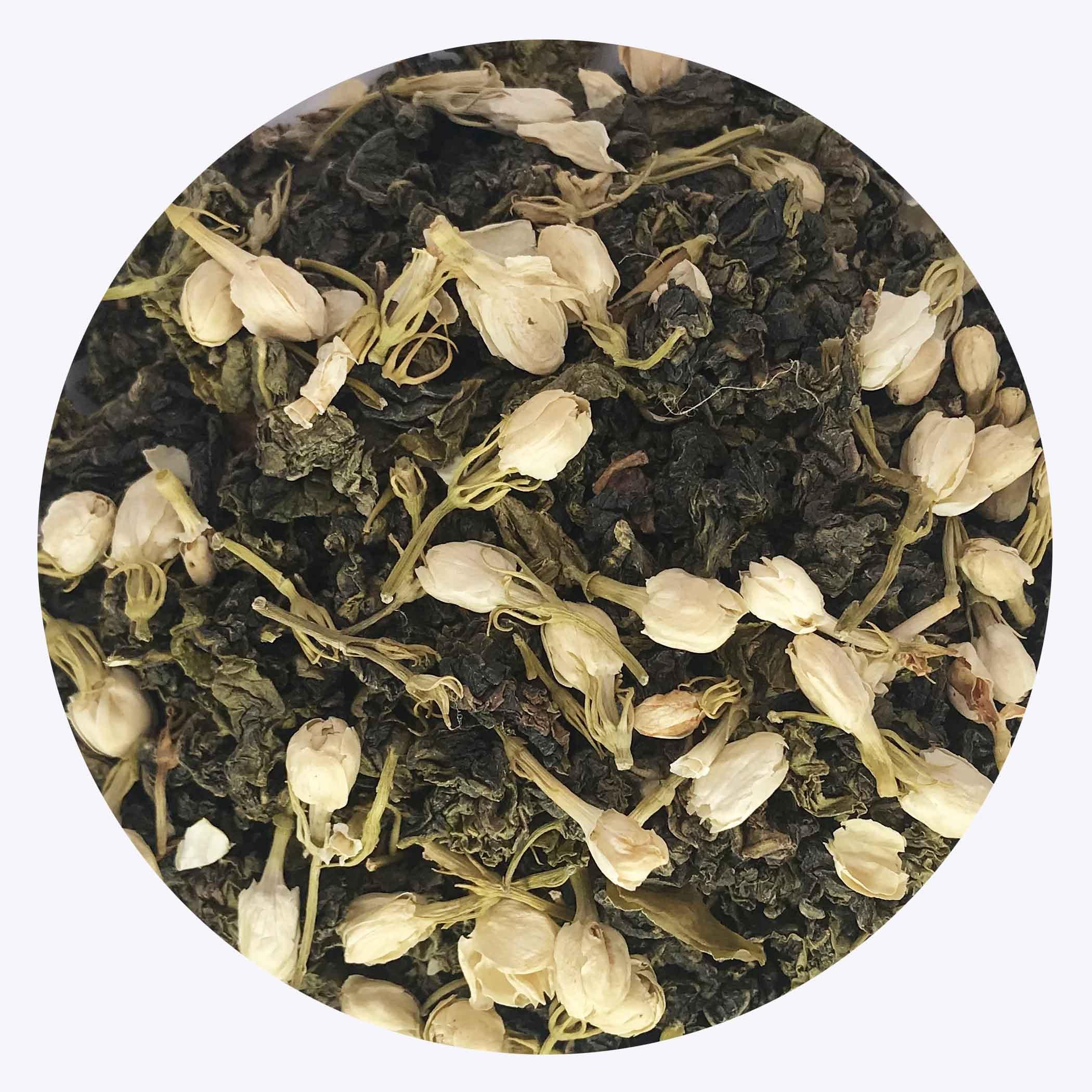 Organic Oriental Tea Jasmine Oolong - 4uTea | 4uTea.com