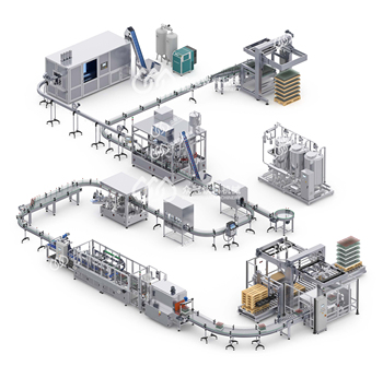 A-Z Complete Line Automatic Water/Carbonated/Juice/Hot Tea Filling Machine Production Line Solution