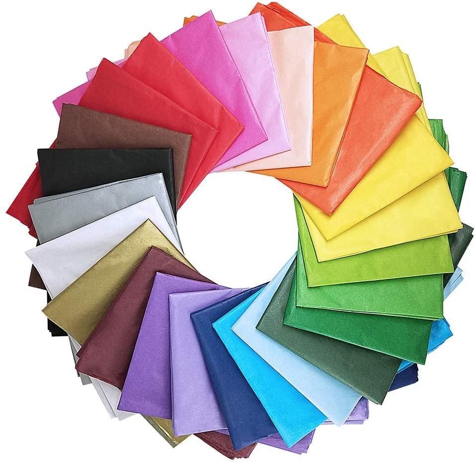 Цветочная оберточная салфетка, индивидуальная упаковка одежды, цветная подарочная бумага 17 г/кв. М, печатная упаковка с логотипом, индивидуальная салфетка