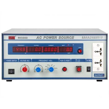 Chinarek AC Power Source RK5000 adjustable Variable frequency power supply meter Pressure Hipot tester Resistance Electronics
