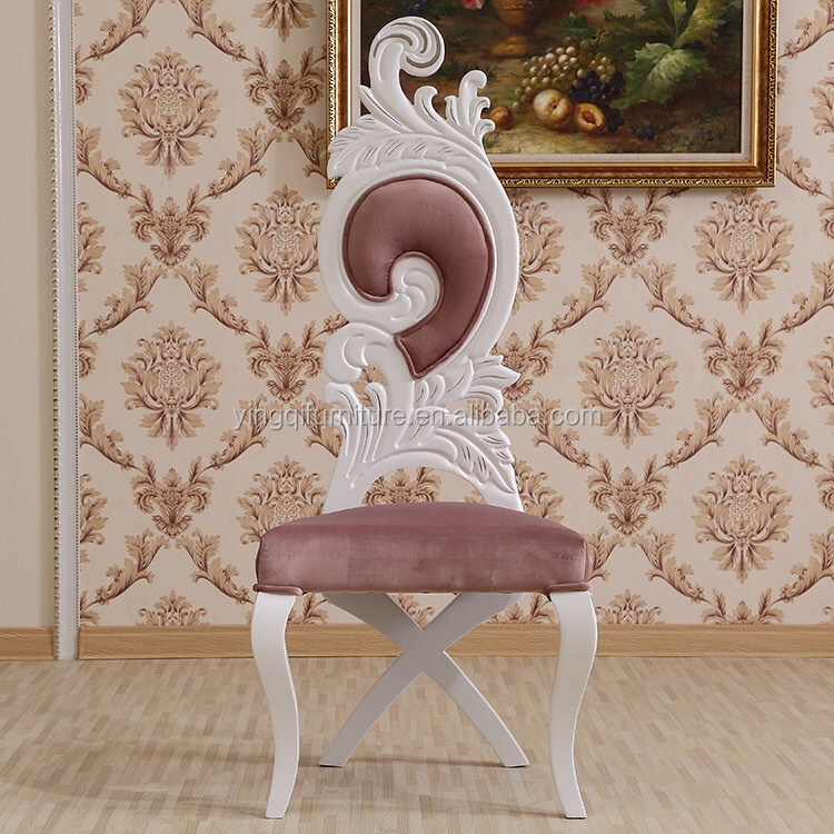 European Classical Princess Dining Chairs For Wedding Party