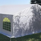 Steel Tent Outdoor Party Tent 6X6M Galvanized Steel Pipe Outdoor Party Tent With Removable Sidewalls White Banquet Tent