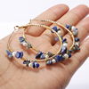 Deep blue lapis lazuli stone