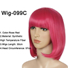 WIG-099C Rosa rojo
