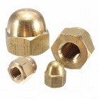 Brass Forging Brassbrass Promotional High Quality Brass Flange Fine Processing Nickel Plating Forging Nuts