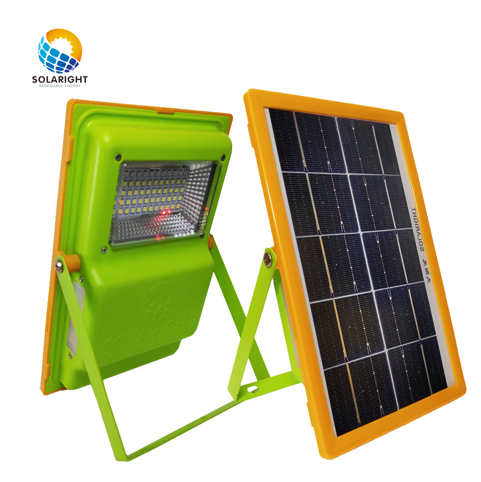 SolaRight High Cost-effective Rv Battery Charger 6w 5v Panel Lit Powerbank Hybrid Solar light