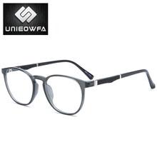 Ретро Круглые оптические очки оправа для женщин Близорукость по рецепту очки оправа винтажные очки Feamle прозрачные очки(China)
