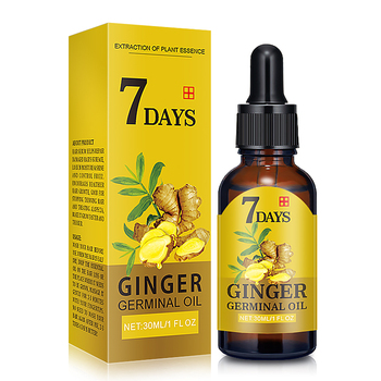 7 Days Ginger Germinal Oil 2020 Bald Hair Growth Products for Men Women