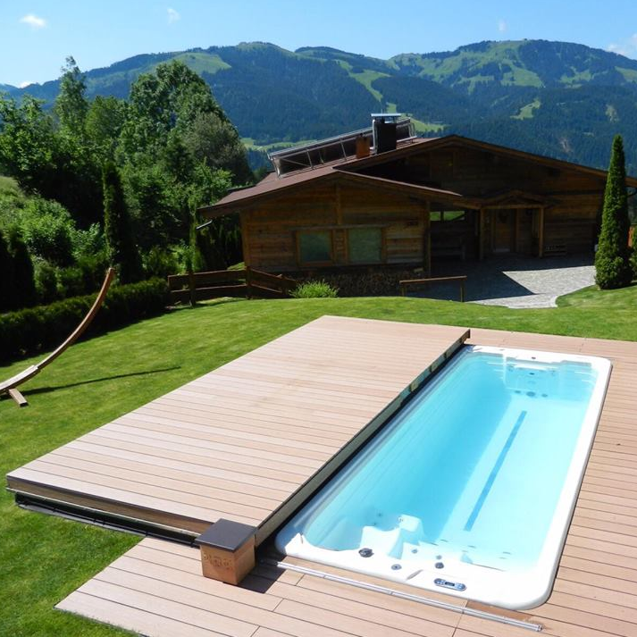 Nice Pool With Folding Type Automatic Deck Pool Cover Easy Install Automatic Deck Swimming Pool Cover Buy Automatic Deck Pool Cover Save Space Pool Cover Wooden Pool Cover Product On Alibaba Com