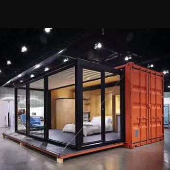 Prefab homes container prefabricated steel structure building in China