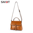 Women Hand Bags 2020 New Tote Fashion Crossbody Handbag Genuine Leather Bags Classic Retro Latest Purse Women Hand Bags