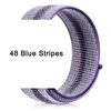 48 Blue Stripes