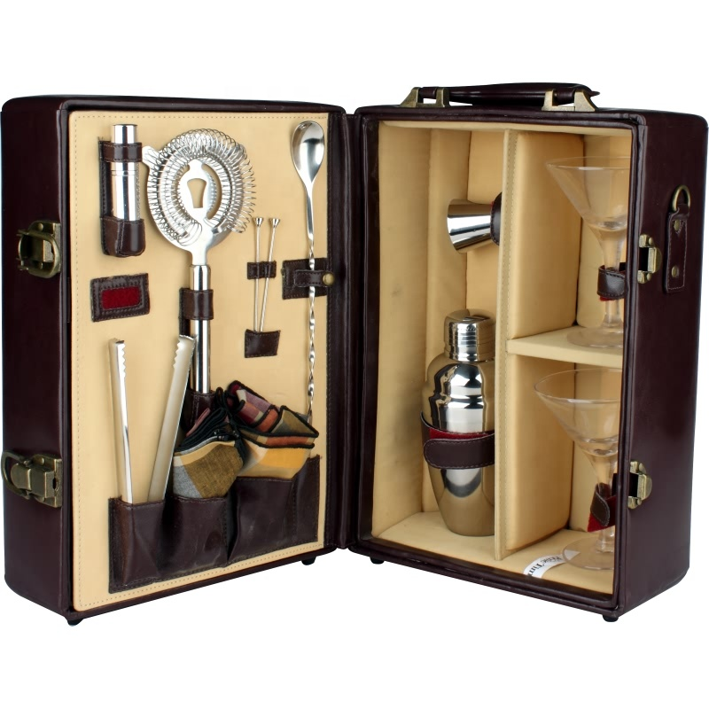 High Quality Cheap Luxury Multifunctional Stainless Steel Bar Bartender Shaker Set