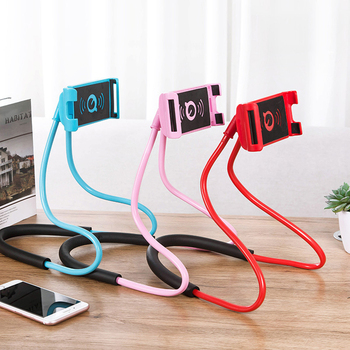 Universal Mobile Phone Stand Lazy Bracket DIY Free Rotating Mounts Cell Phone Holder with Multiple Function
