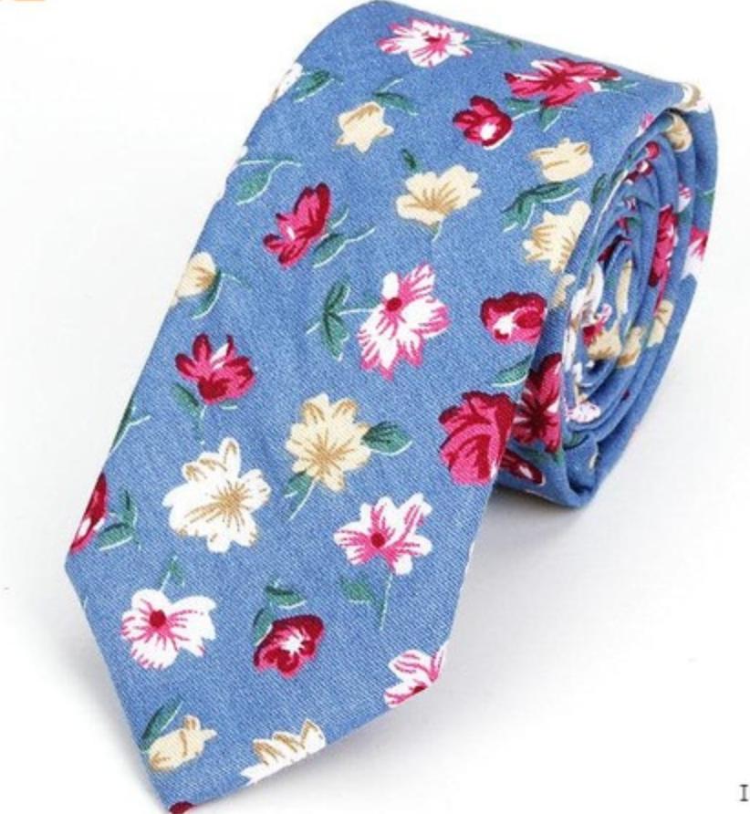 100% хлопок, оптовая продажа, различные галстуки с цветочным принтом для мужчин, классический цветной галстук с цветочным принтом