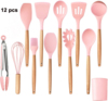 12 Pcs of Set Pink