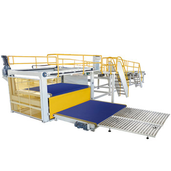 Factory price high speed automatic 5 layer corrugated cardboard production line for carton box making