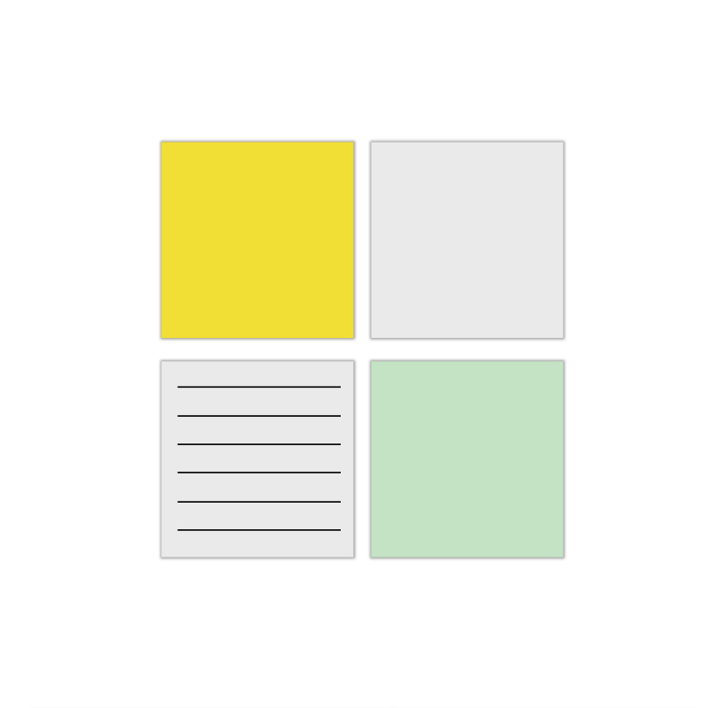 factory supply high quality reusable sticky note white board removable stick-on dry erase board for wall - Yola WhiteBoard | szyola.net