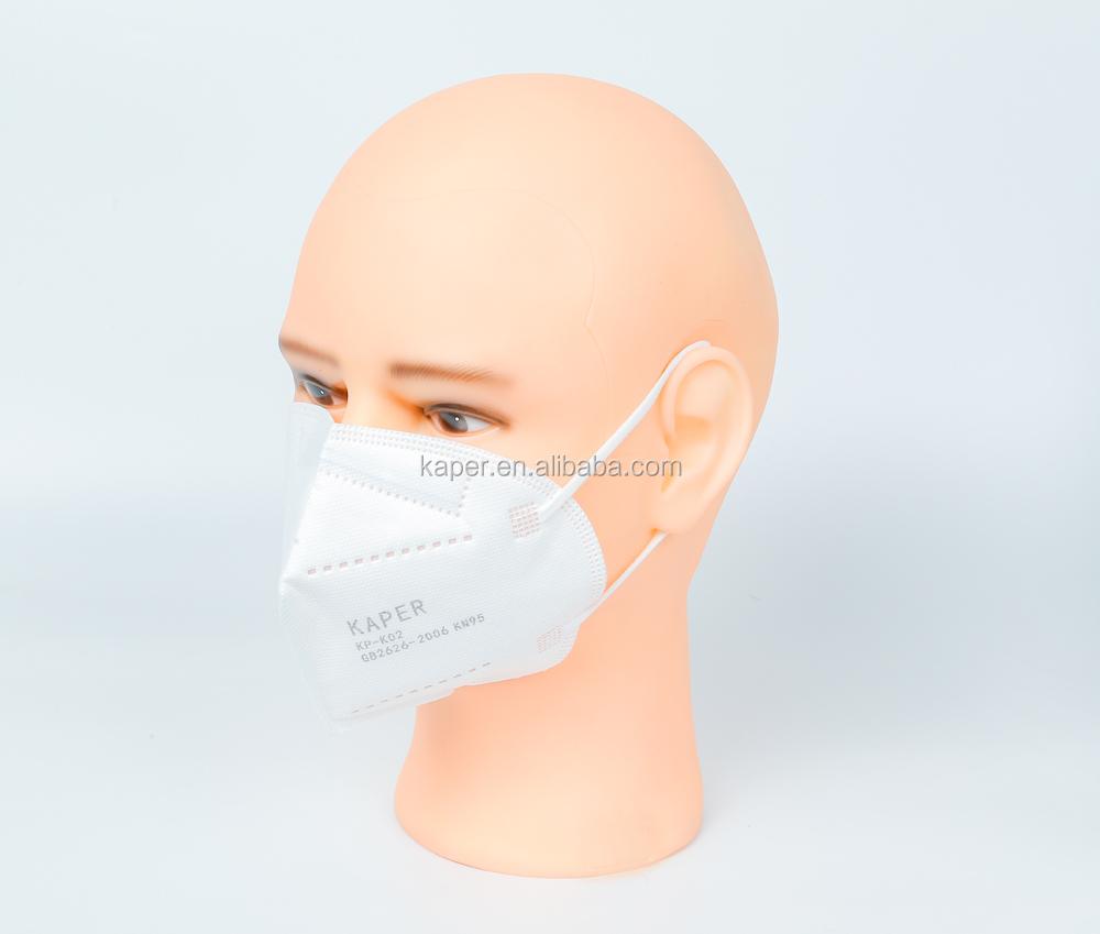 5 layer FFP2 3D shape pm2.5 dust protector KN95 respirator face mask - KingCare   KingCare.net