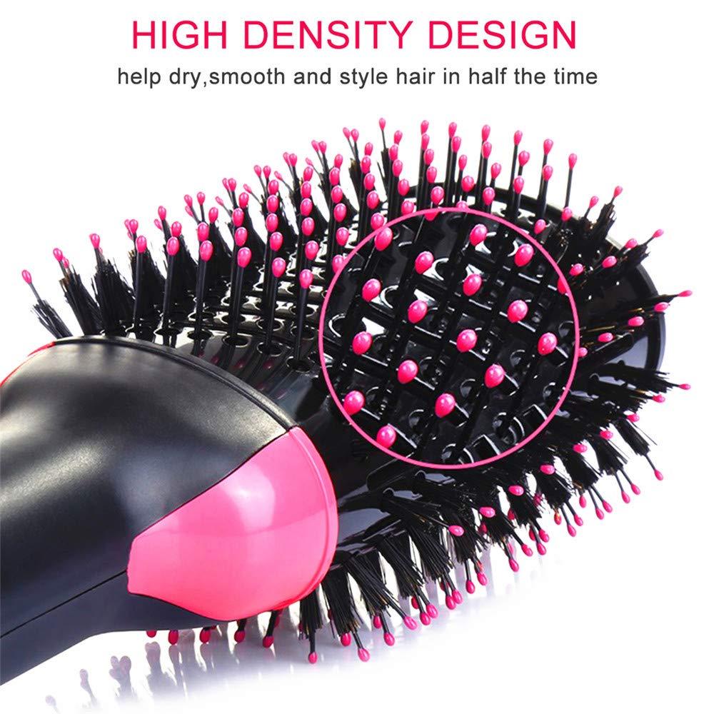 Многофункциональная щетка для выпрямления волос/щетка для горячего воздуха, стайлер, профессиональный одношаговый фен, щетка для горячего воздуха
