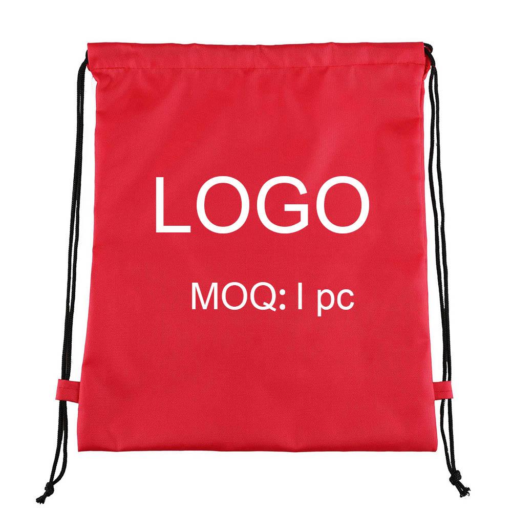 Оптовая продажа, Высококачественная сумка на шнурке, Сумка с индивидуальным логотипом для рекламы мероприятий