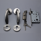 Door Handles Security Lock Door Door Lock Security High Quality Zinc Alloy Casting Door Handles Security Lock