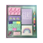 School Hot Sale Rainbow Office School Stationery Set For Kids Gift