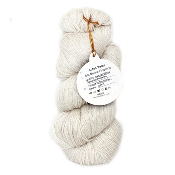 Louts Yarns Silk Merino Blended 2ply/4ply/Single Ply Handknitting Yarn For Hand Dye