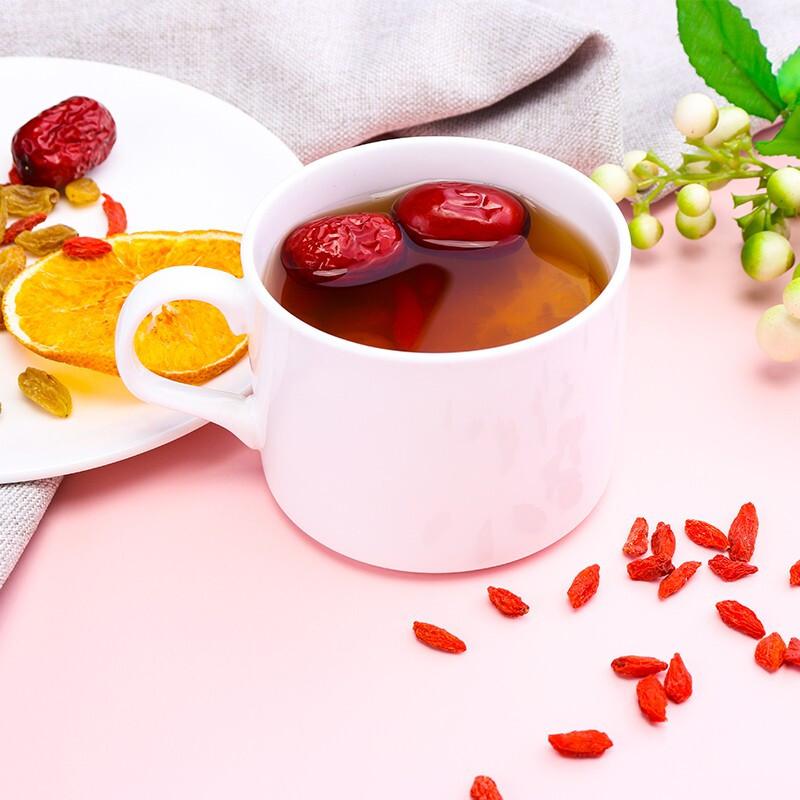 Chinese blooming tea food beverage Dried fruit flower tea - 4uTea   4uTea.com