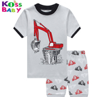 2-7Y 100%cotton Wholesale cotton pajamas children bulk pajama pants sleep kurti pajama sets boys