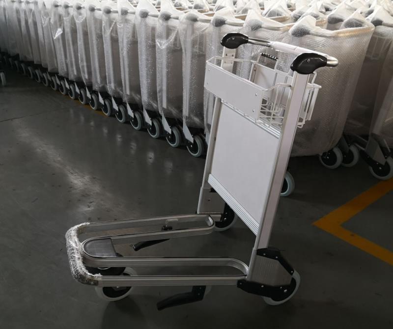 Китай, ручной тормоз, багажная тележка для аэропорта с тормозом