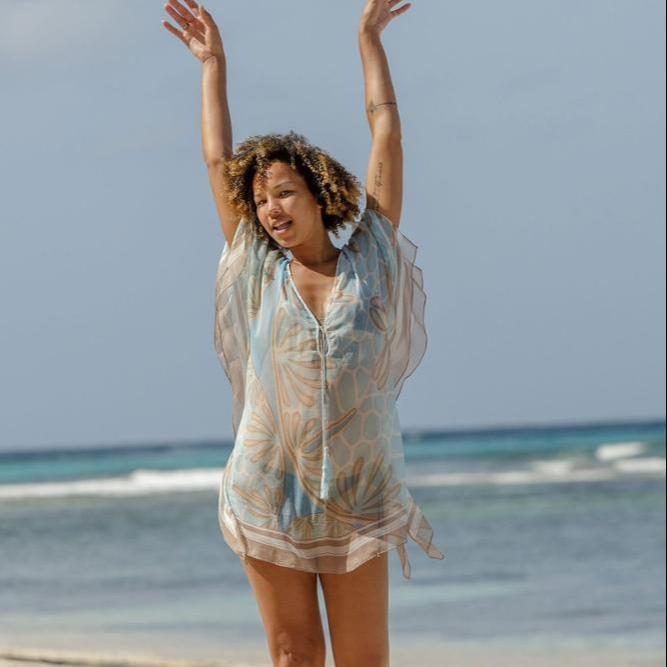 Ladies indian beachwear for Cupshe