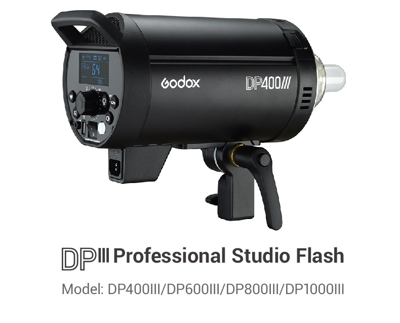 Godox DP600III 600W Professional Studio Strobe Flash Light Lamp GN80 2.4G HSS 1 / 8000s Built-in X System for Video Photography