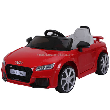 Licensed AUDI TT RS battery powered kids ride on electric car china import toys child toy baby