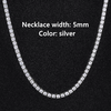 5mm Silver Necklace