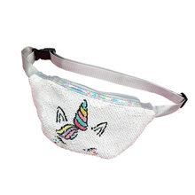 Поясная Сумка Unicorn, поясная сумка-бананка на бедрах для маленьких женщин и девочек(Китай)