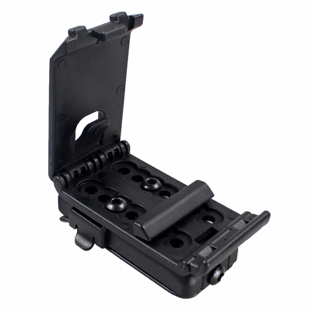Tactical Adjustable Mag Holster GLOCK Single Magazine Pouch with Belt Clip for All Pistol G17 1911 M92 P226 USP
