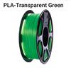 PLA Transparent Green,/ Neutral Box
