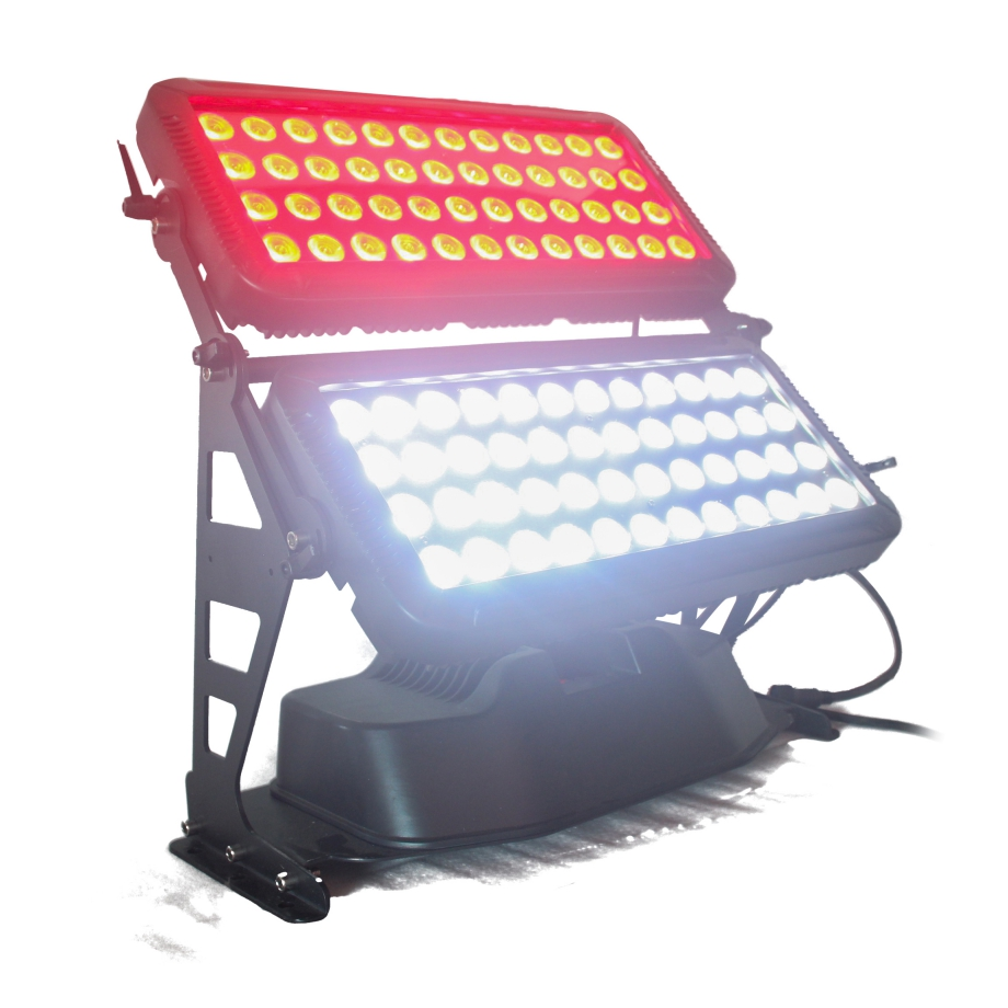 96 led by 10w led city color architecture wall washer light