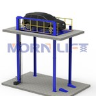 Car Lift MORN Hydraulic Garage Car Elevator Equipment Electric Vertical Car Lift 4 Post Car Lift For Sale