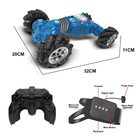 2020 Newest Hand Watch Double Sided Kids Radio Control 4wd Rc Stunt Car Toy 360 Degrees