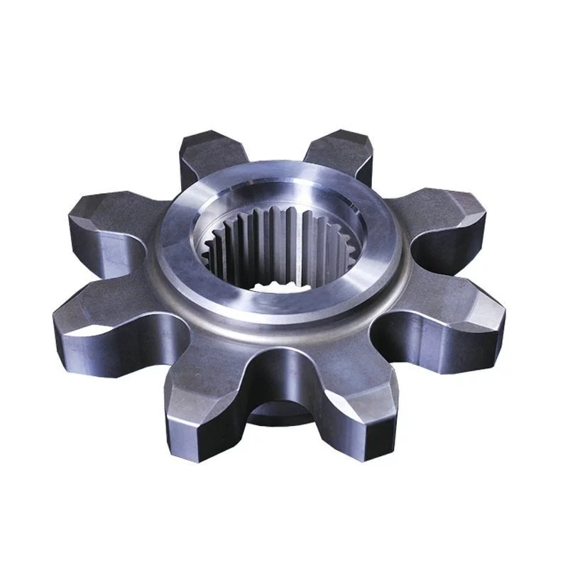 Manufacturer OEM Custom Carbon Steel Casting Ring Gear Casted Parts