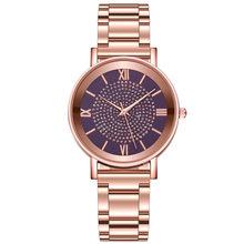 Duola роскошные женские часы Модные кварцевые наручные часы женские ремешок из нержавеющей стали сплав Циферблат повседневные часы из Женевы(Китай)