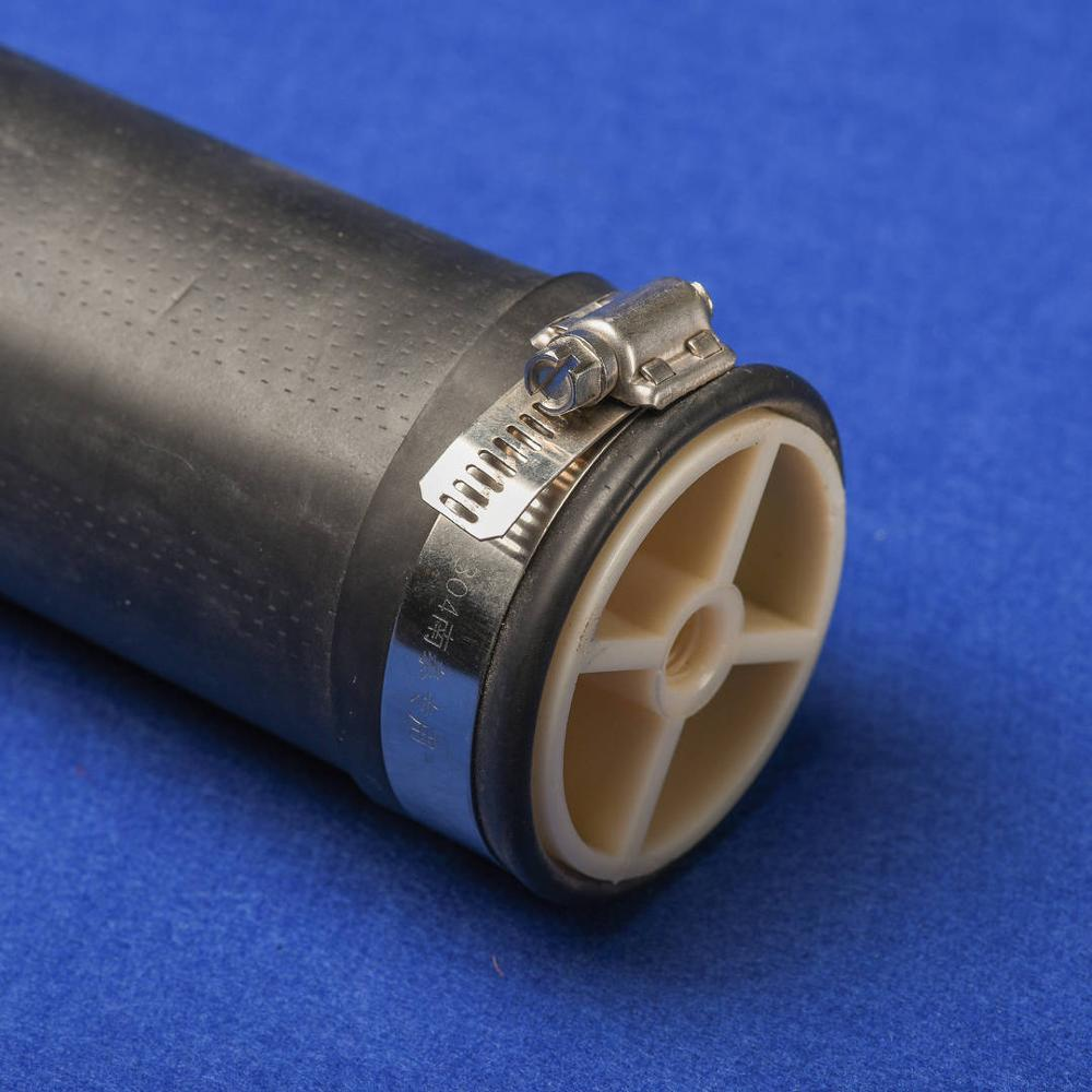 The tubular microporous aeration pipe is composed of imported rubber diaphragm and air supply main pipe